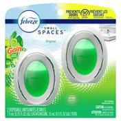 Febreze SMALL SPACES Air Freshener, Gain Original Scent