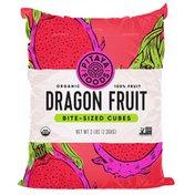 Pitaya Foods Organic Dragon Fruit Bite-Sized Pieces