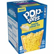 Kellogg's Pop-Tarts Toaster Pastries, Breakfast Foods, Baked in the USA, Frosted Lemon Creme Pie