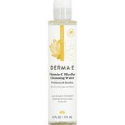 DERMA E Cleansing Water, Vitamin C Micellar