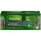 Depend Fit-Flex For Men L/XL Maximum Absorbency Underwear