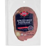Dietz & Watson Pastrami, Spiced Beef, Thin Sliced