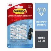3M Command Command™ Clear Mini Hooks