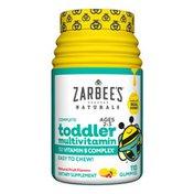 Zarbee's Naturals Complete Toddler Multivitamin, Natural Fruit Flavors