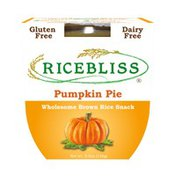 Ricebliss Wholesome Brown Rice Snack, Pumpkin Pie