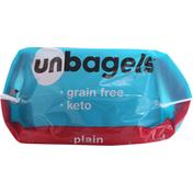 Unbagels Bagels, Plain