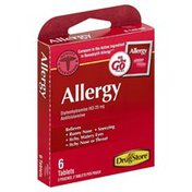 Lil Drug Store Allergy, 25 mg, Tablets, On the Go Packs