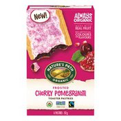 Nature's Path Cherry Pomegranate Frosted Toaster Pastries