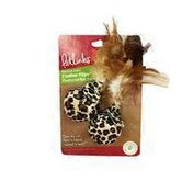 Petlinks Feather Flips Feathered Ball Toy for Cats