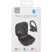 iLive Earbuds, Truly Wire-Free, Black