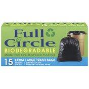Full Circle Extra Large 33 Gallon Trash Bags
