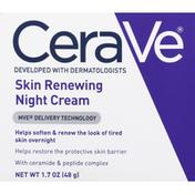 CeraVe Night Cream, Skin Renewing