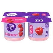 Light + Fit Nonfat Gluten-Free Raspberry Yogurt