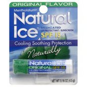 Natural Ice Medicated Lip Protectant/Sunscreen SPF 15 Original