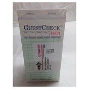First Street G7000 Guest Checks