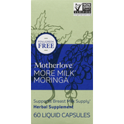 Motherlove More Milk, Liquid Capsules, Moringa