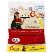 Celias Flour Tortillas
