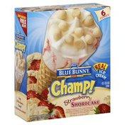 Blue Bunny Ice Cream Cone, Strawberry Shortcake