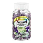 Centrum Flavor Burst Wild Grape Multivitamin/Multimineral Supplement Adult Chews - 120 CT