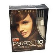 Clairol Perfect 10 by Nice 'n Easy Hair Color - 6 Light Brown