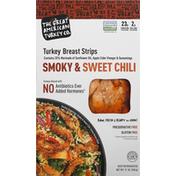 The Great American Turkey Co. Turkey Breast Strips, Smoky & Sweet Chili