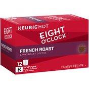 Eight O'Clock Coffee French Roast K-Cup Packs Coffee