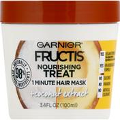 Garnier Fructis Nourishing Treat, +Coconut Extract