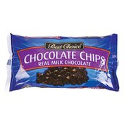 Best Choice Real Milk Chocolate Chips
