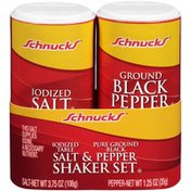 Schnucks Salt & Pepper Shaker Set