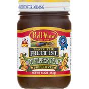 Bell-View Preserves, Hot Pepper Peach
