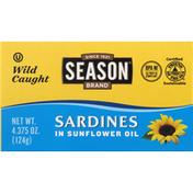 Season Sardines in Sunflower Oil