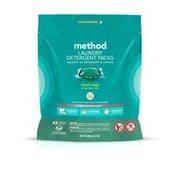 Method Laundry Detergent Packs, Beach Sage