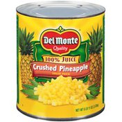 Del Monte Crushed Solid Pack Pineapple