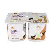 SB Light Nonfat Yogurt Vanilla - 4 CT
