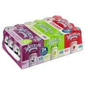 Waterloo Sparkling Water Variety Pack (8 x Black Cherry, 8 x Lemon-Lime, 8 x Strawberry)