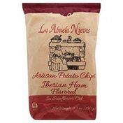 La Abuela Nieves Potato Chips, Artisan, Iberian Ham Flavored