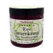 Cultured Raw Super Sauerkraut Salad