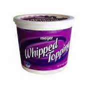 Meijer Whipped Topping