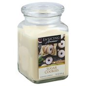 Enticing Aromas Candle, Scented, Sugar Cookies, Soy Blend