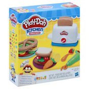 Play-Doh Playset, Modeling Compound, Toaster Creations