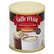 Caffe D'Vita Cappuccino, Premium Instant, Hazelnut