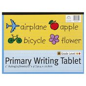 Norcom Writing Tablet, Primary, 1 Inch Ruling, 25 Sheets