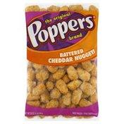 Poppers Cheddar Nuggets, Battered