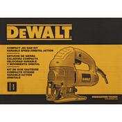 Dewalt Jig Saw Kit, Compact