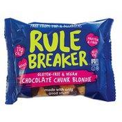 Rule Breaker Gluten Free Deep Chocolate Brownie Bar
