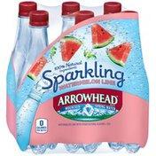 Arrowhead Watermelon Lime Sparkling Mountain Spring Water