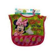 Disney Nylon Minnie Mouse Bibs