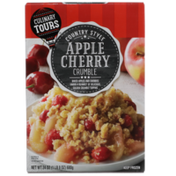 Culinary Tours Country Style Apple Cherry Crumble