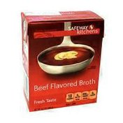 Signature Kitchens Beef Flavored Broth
