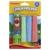 Playskool Chalk Holder with Washable Sidewalk Chalk, Mr. Potato Head